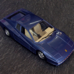 BURAGO 1:24 Ferrari Testarossa 1984  rare Dark Metallic Blue issue vgc @SOLD@